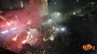 Στον Λευκό Πύργο οι παίκτες του ΠΑΟΚ! Αποθεώνονται από τους οπαδούς - Ολονύχτιο πάρτι στη Θεσσαλονίκη (ΦΩΤΟ – ΒΙΝΤΕΟ)