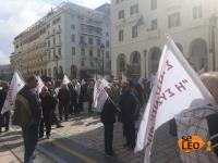 ΤΩΡΑ: Στους δρόμους οι συνταξιούχοι - Διαμαρτυρία στο κέντρο της Θεσσαλονίκης (ΦΩΤΟ)