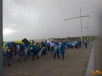 ΤΩΡΑ-Θεσσαλονίκη: Φοιτητές από χώρες της Ευρώπης ''πλημμύρισαν'' την Ν.Παραλία(ΦΩΤΟ+BINTEO)