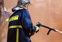 Φωτιά σε εν κινήσει ταξί στην Εθνική Οδό Θεσσαλονίκης-Γιαννιτσών