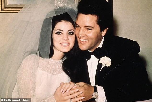 Ο Έλβις Πρίσλεϊ με τη γυναίκα του, Πρισίλα